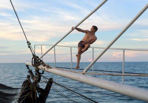 Arbeiten als Fischer auf einem Prawn Trawler in Darwin